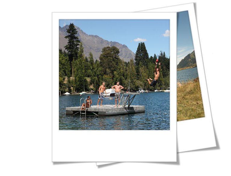 Summer polaroid- Queenstown